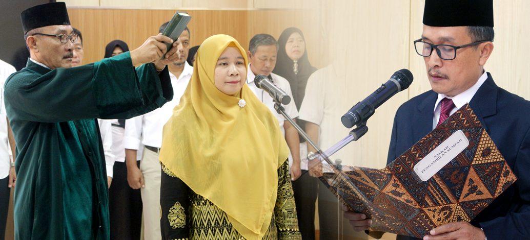 Pelantikan Ketua Jurusan Peternakan Periode 2020-2024