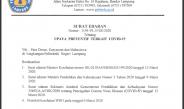 Surat Edaran Direktur terbaru 24 Maret 2020
